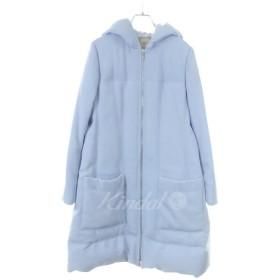 DAISY LIN For FOXEY Princess Down Coat フーデッドダウンコート サックスブルー サイズ:38 (和歌山店) 19