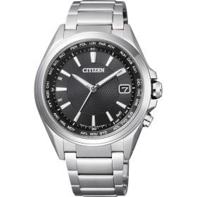 シチズン アテッサ メンズ電波腕時計