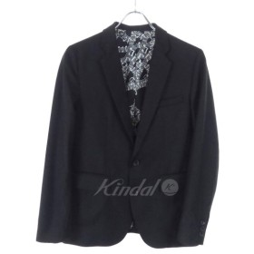 【4月25日値下】NUMBER(N)INE×STUDIOUS テーラードジャケット 17SS ブラック サイズ:1 (和歌山店)
