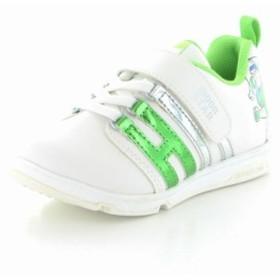 ムーンスター キャロット 子供靴 キッズシューズ DN C1245 グリーン 機能性に富んだ「ムーンスター」キッズのディズニーデザイン