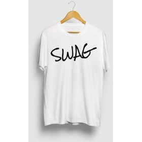 SWAG スワッグ ヒップホップダンスロゴTシャツ