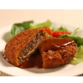 牛肉 神戸牛 ミンチカツ 5個 サクサク ジューシー メンチカツ  惣菜 高級 冷凍 和牛 国産  神戸ビーフ 帝神