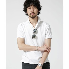 【ナノ・ユニバース/nano・universe】 Anti Soaked POLOシャツ