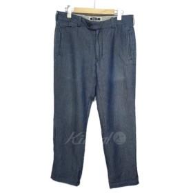 【SALE】 【30%OFF】 KIIT 「Wool Denim Pants」ウールデニムパンツ サイズ:2 (栄店)