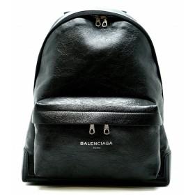 (バッグ)BALENCIAGA バレンシアガ バックパック リュック レザー ノアール 黒 ブラック 409010 1000 D528147(k)