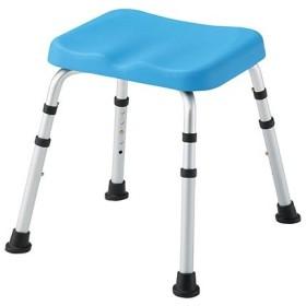 【全国配送可】-PUシャワー椅子 HS4420 B その他 aso7-4440-01-【医療・研究機器】