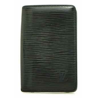 LOUIS VUITTON ルイ ヴィトン エピ ポシェット カルト ヴィジット カードケース カード入れ 名刺入れ レザー ノワール 黒 ブラック M56572 (u)