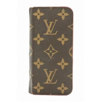 LOUIS VUITTON ルイ ヴィトン モノグラム iPhone6 フォリオ アイフォン6 ケース アイフォンケース スマホケース ルージュ イニシャル入り M61616 (k)