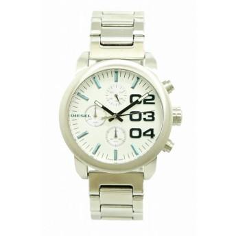 (ウォッチ)DIESEL ディーゼル フレア クロノグラフ シルバー文字盤 SS メンズ クォーツ 腕時計 DZ5463 DZ-5463(k)