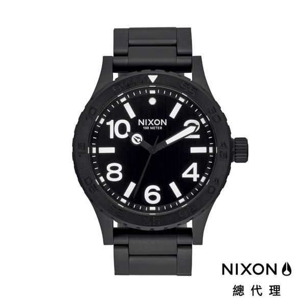NIXON 46 正裝錶 黑白極簡 潮人裝備 潮人態度 禮物首選