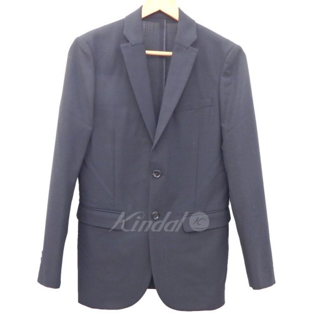 【10月18日値下】KNOTT 18SS NEO STRETCHサマーウールテーラードジャケット ブラック サイズ:0 (フレスポ東大阪店)