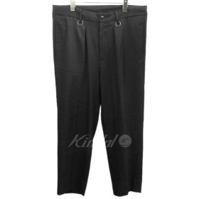 MAGIC STICK 18AW「LUX WORKERS TROUSERS」ワークトラウザーパンツ ブラック サイズ:M (渋谷店) 190326