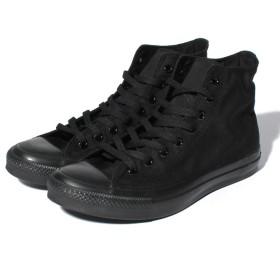 コンバース (キャンバスオールスター HI(ブラックモノクローム) ユニセックス ブラックモノクローム 25.5cm 【CONVERSE】