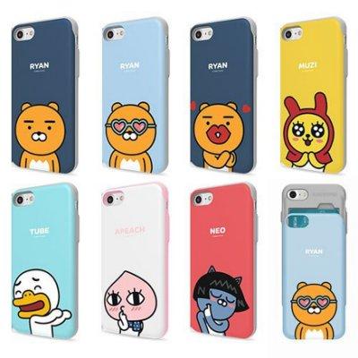 KAKAO FRIENDS 手機殼│推蓋卡夾│S8 S8+ S9 S9+ S10 S10E S10+│z7682
