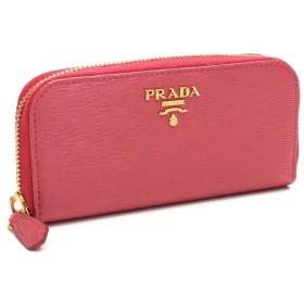 プラダ アウトレット PRADAOUTLET 6連キーケース 1PG604-O-2EZZ-F0505 PEONIA ピンク系