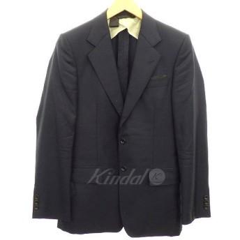 【6月17日値下】N.HOOLYWOOD シルク混2Bジャケット ネイビー サイズ:36 (明石店)