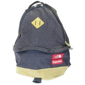 SUPREME(シュプリーム)12AW×THE NORTH FACE ノースフェイス Medium Day Pack Backpack コーデュロイバックパック ディープパープル リュック