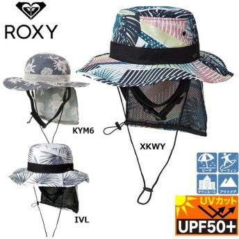 サーフハット レディース 19ROXY ロキシー UV WATER HAT PRT UPF50+ UVカット