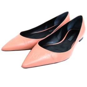 NINA RICCI フラットパンプス ピンク サイズ:35 1/2 (銀座店) 190527