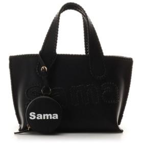 サマンサタバサ サマタバトートバッグ 小 レディース ブラック FREE 【Samantha Thavasa】