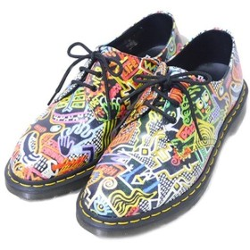 Dr.Martens × MARK WIGAN 2015AW 3EYE SHOE MULTI KABOOM 総柄 3ホール マルチカラー サイズ:8