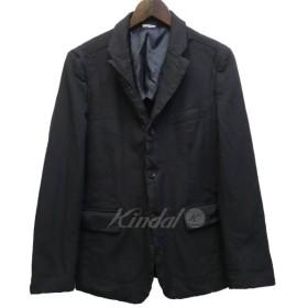 COMME des GARCONS HOMME DEUX 17SS ストライプテーラードジャケット ネイビー サイズ:XS (新宿店) 190509