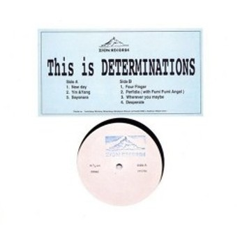 This is DETERMINATIONS 中古 良品 CD