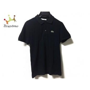 ラコステ Lacoste 半袖ポロシャツ サイズ38 M レディース 黒 値下げ 20190902