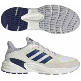 アディダス 90S VALASION クラウドホワイト×ダークブルー×ハイレゾイエロー  adidas EE9895