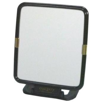 メリー 卓上ミラー(折立式) ブラック KA-1101お化粧 化粧鏡 メイク