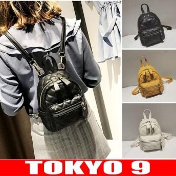 リュック バッグ レディース シンプル カジュアル キルティング ミニバッグ TOKYO9