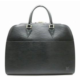 (バッグ)LOUIS VUITTON ルイ ヴィトン エピ ソルボンヌ 書類カバン ビジネスバッグ ブリーフケース レザー ノワール 黒 ブラック M54512 (k)