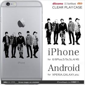 SHINEE iPhone ケース galaxy xperia android アンドロイド ギャラクシー 手帳 (SHINEE:sequenceシルエット)