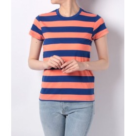 (LEVI'S OUTLET/リーバイス アウトレット)L8 TEE DETENTION STRIPE SURF THE WEB/DES/レディース マルチ