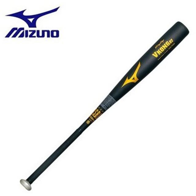 野球 MIZUNO ミズノ 一般軟式金属バット ビクトリーステージ Vコング02(金属製) 84cm750g平均 ブラック 新球対応