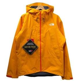 【9月2日値下】THE NORTH FACE CLIMB LIGHT JACKET マウンテンパーカー NP11503 オレンジ サイズ:L (天神橋
