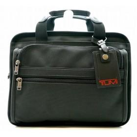 (バッグ)TUMI トゥミ スモール エクスパンダブル コンピューター ブリーフケース ビジネスバッグ 書類カバン PCケース ナイロン 黒 ブラック 2606214(u)