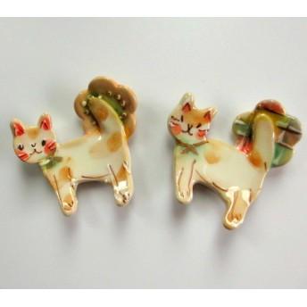 内藤加奈子 猫の箸置きC/D