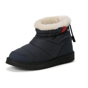 【50%OFF】Snow Fashion Short ボアライナー ショートブーツ ネイビー 5