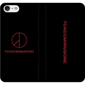 BIGBANG iPhone ケース galaxy xperia android アンドロイド ギャラクシー 手帳(手帳/BIGBANG:GDPMO)文字カラー:レッド(ボディ/ブラック)