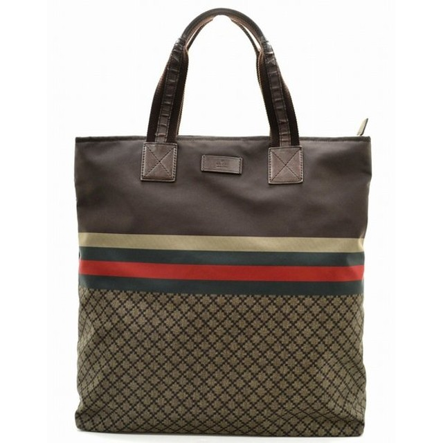 cheap for discount e4ad2 4016a バッグ)GUCCI グッチ ディアマンテ ナイロン トートバッグ ...