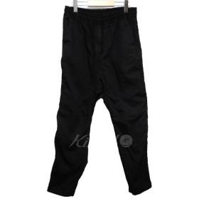 White Mountaineering 2018SS ガーメントダイシャーリングパンツ ブラック サイズ:2 (池袋店) 190519