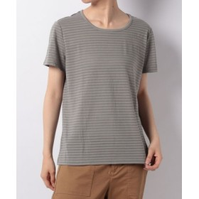(Eddie Bauer OUTLET/エディー・バウアー・アウトレット)SS BURNOUT STRIPE T/レディース グレー