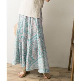URBAN RESEARCH(アーバンリサーチ) スカート スカート パネルペイズリープリントスカート【送料無料】