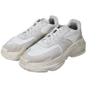 【11月21日値下】BALENCIAGA 18SS TRIPLE S ホワイト サイズ:43 28.5cm (吉祥寺店)