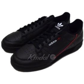 【10月17日値下】adidas Continental80 スニーカー ブラック サイズ:US10 1/2 (恵比寿店)