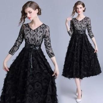 結婚式ドレス お呼ばれ ドレス ワンピース 30代 20代 パーティドレス 結婚式二次會 40代 ワンピドレス 30代ドレス お
