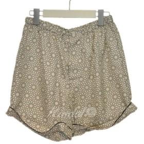 【5月27日値下】MARNI 2011 星柄シルクショートパンツ オフホワイト サイズ:1 (元町店)【返品不可】