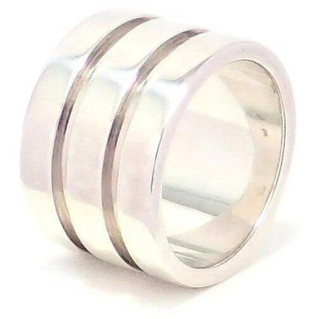 pretty nice e7501 41e85 ジュエリー)GUCCI グッチ シルバー リング 指輪 SV925 #15.5(k ...