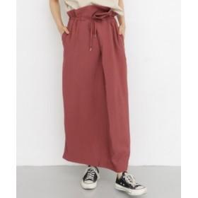 KBF(ケービーエフ) スカート スカート ペプラムウエストイージースカート【送料無料】